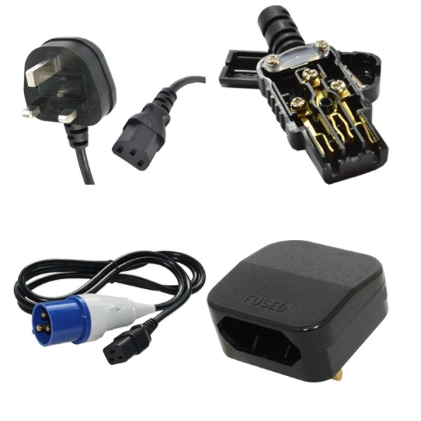 3Mtr 2 Gang Extension Lead with 2 x USB Sockets for Iphone Camera Splitter Mains