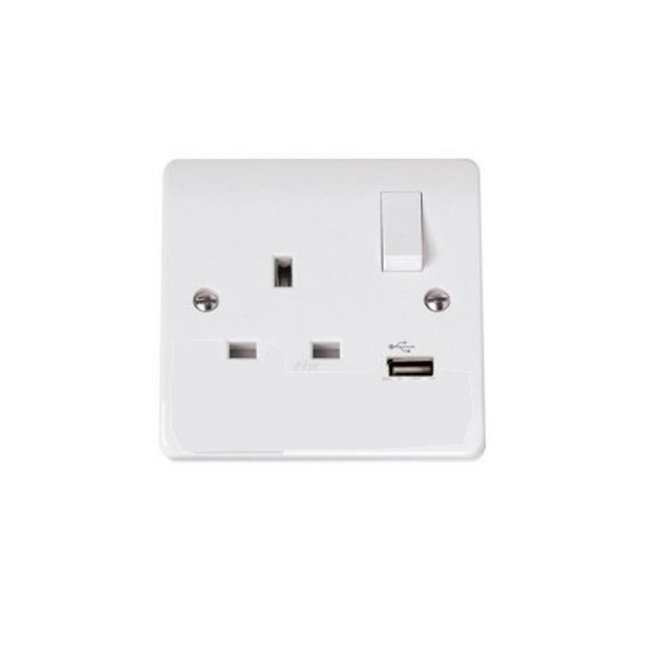 Scolmore 13A UK Socket Mains Outlet logo