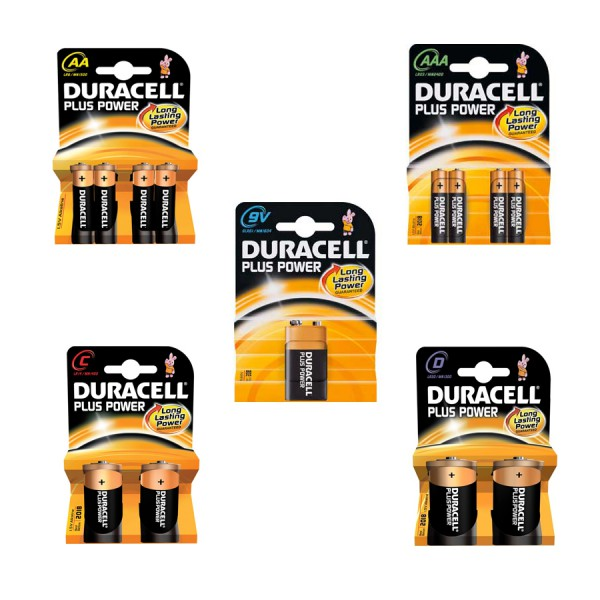Duracell Plus Power Alkaline Batteries logo