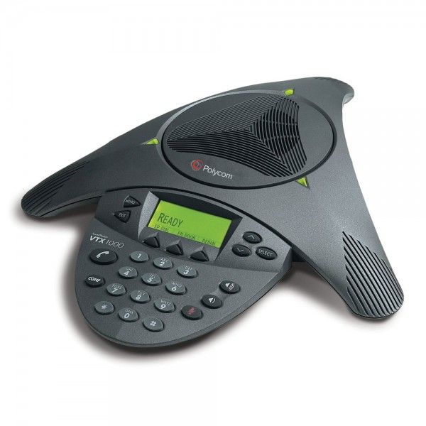 SoundStation VTX1000 Conferencing Unit logo