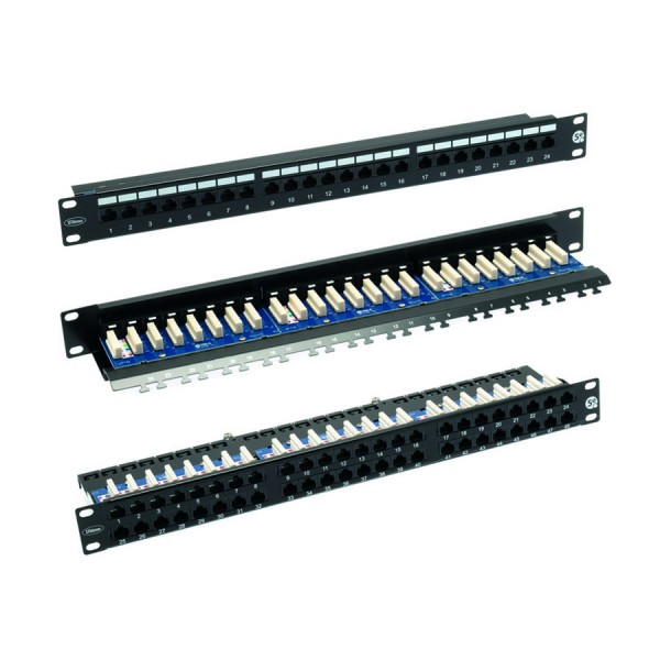 Ultima Cat5e Right Angle Patch Panels logo