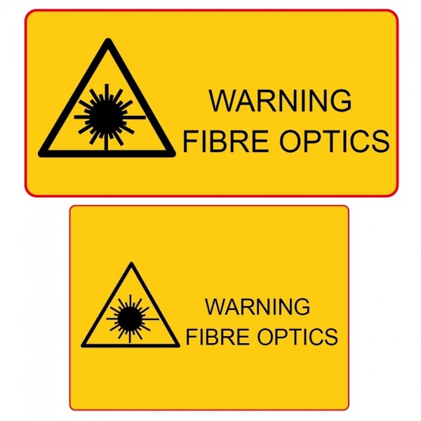 Fibre Laser Warning Labels logo