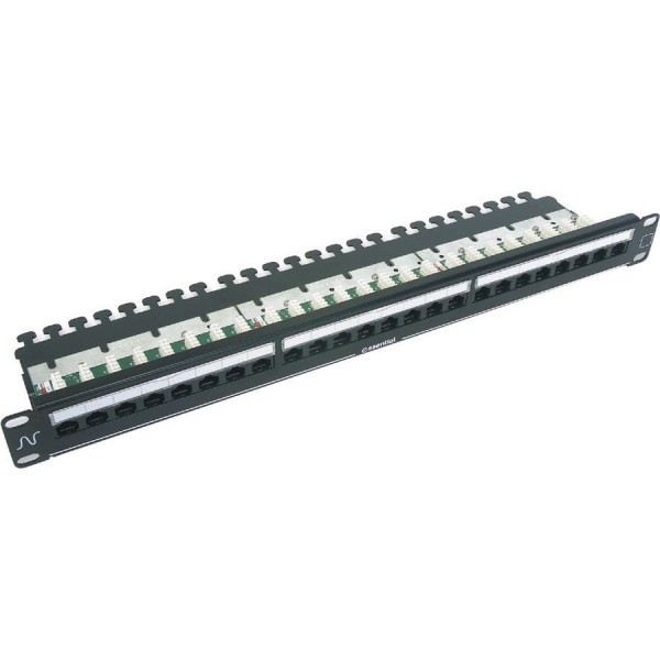 Essential Cat5e Right Angle Patch Panels logo