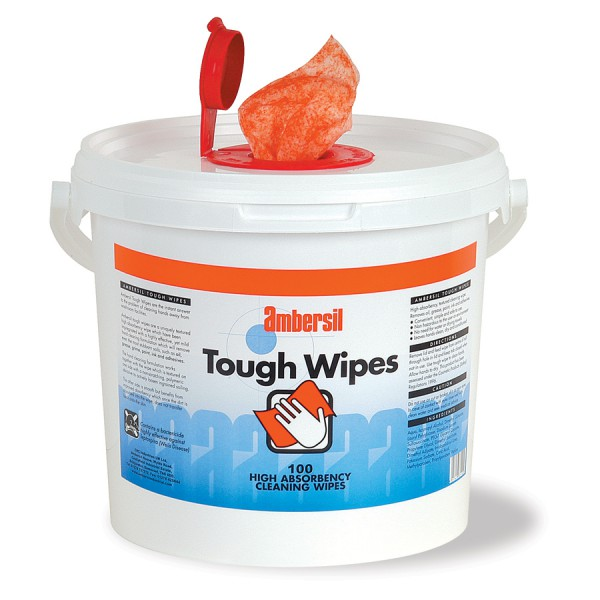 Ambersil Cleaning Wipes logo