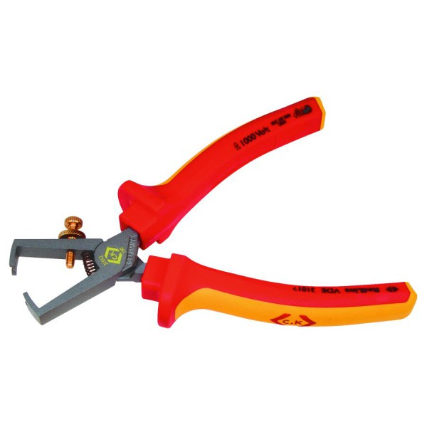 CK VDE Wire Stripping Pliers logo