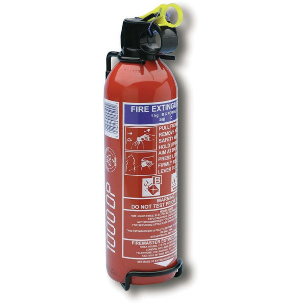 Dry Powder Fire Extinguishers logo