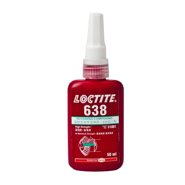 Loctite Adhesive Cold Cure 638 logo