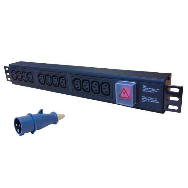 Ultima 16A BS4343 Plug (Commando) IEC C13 Socket PDUs logo