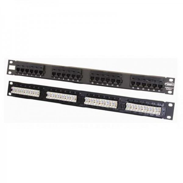 NETCONNECT Cat6 Rear Punch Patch Panels logo