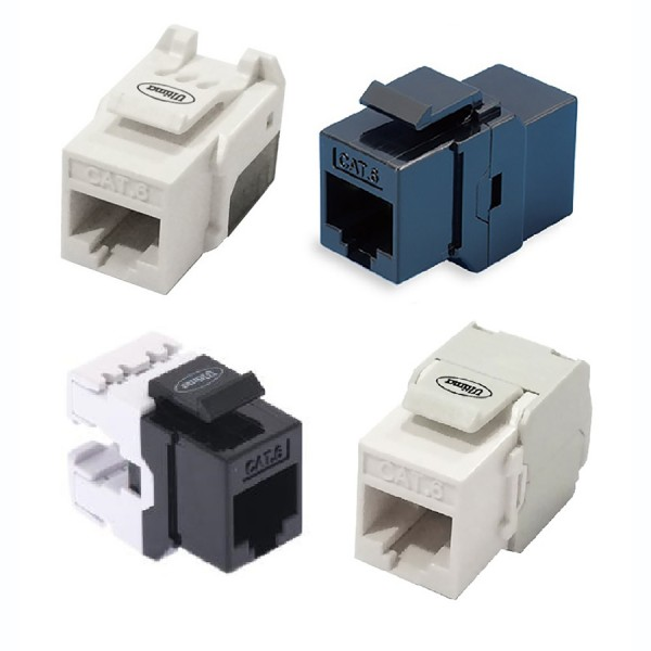 Ultima Cat6 Keystone Jacks logo