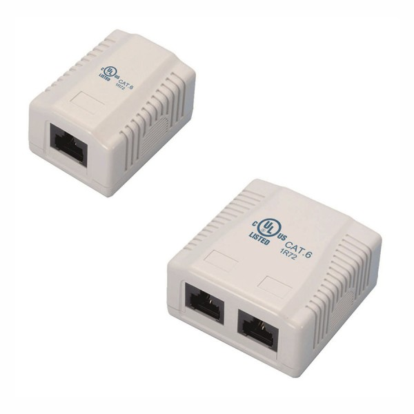 Ultima Cat6 Surface Mounted Outlets logo
