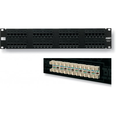 NETCONNECT Cat6 Modular Patch Panels logo