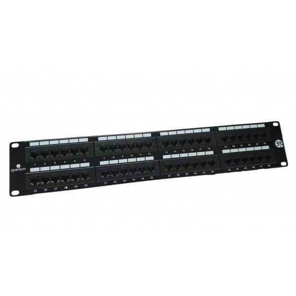 Quantum Cat5e Rear Punch Patch Panels logo