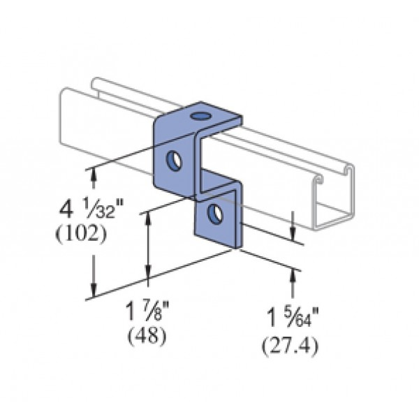 Unistrut Channel Bracket P Shaped logo