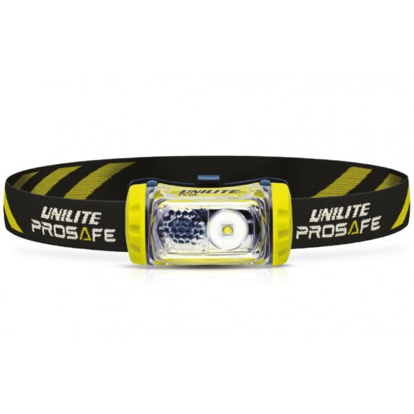Uni-Lite Prosafe PS-H4 Helmet Mountable Headlight logo