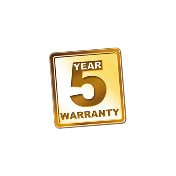 Fusion Splicer Gold Warranty 5 Year logo