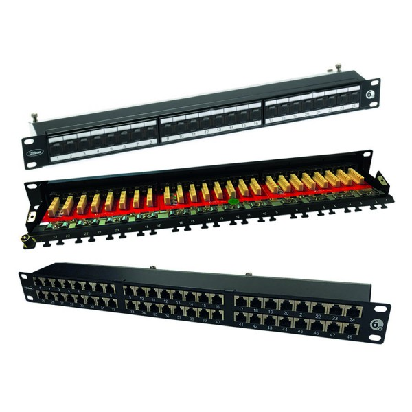 Ultima Cat6A Right Angle Patch Panels logo