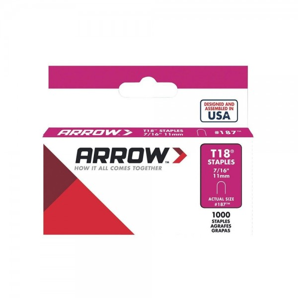 Arrow T18 Staples logo