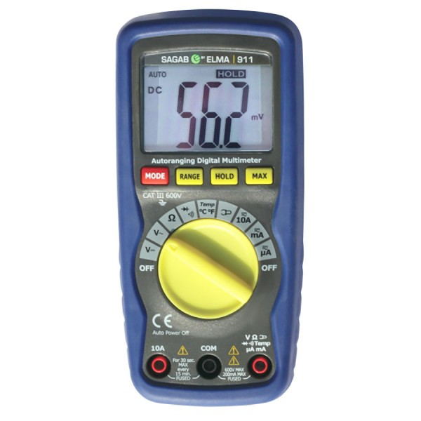 Elma 911 Professional Multimeter logo