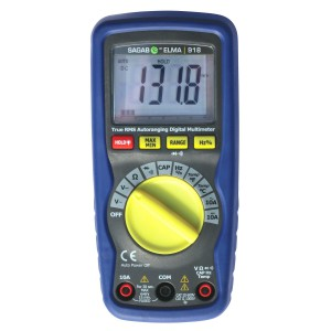 SAGAB Elma 918 True RMS Multimeter logo