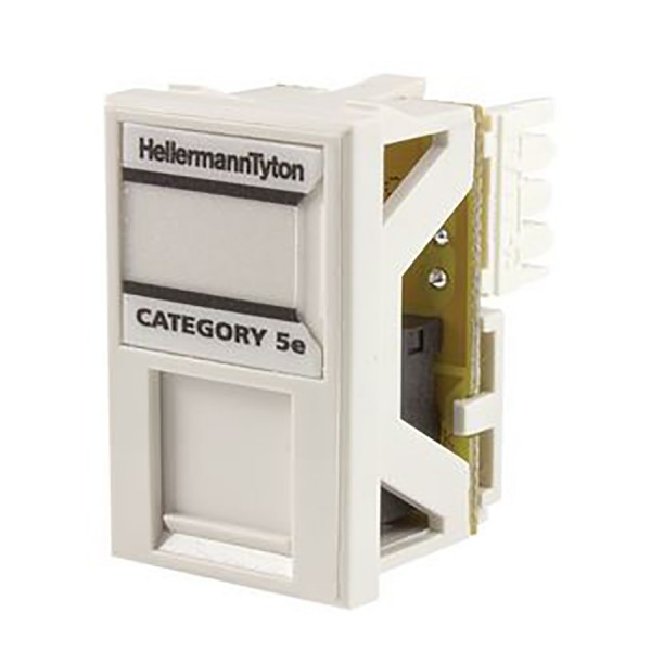HellermannTyton Cat5e LJ6C Modules logo