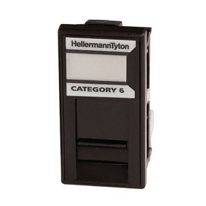 HellermannTyton GigaBand Easy Clip Cat6 Modules logo
