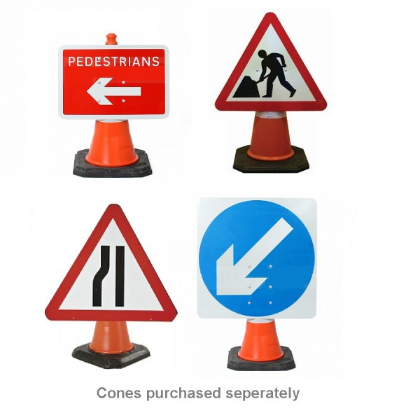 Road Cone Mounted Signs logo