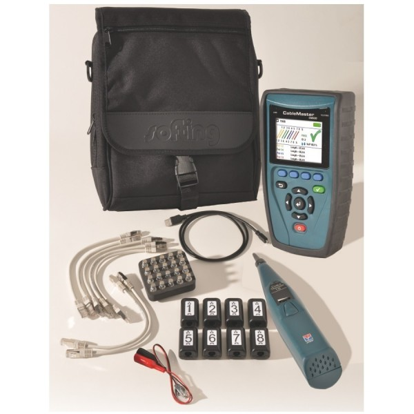 Softing CableMaster 650 Voice, Data and Video Tester Kit logo