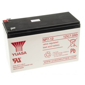 Yuasa SLA Sealed Lead Acid Rechargable Battery logo