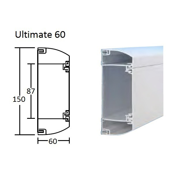 Schneider Ultimate 60 Dado Trunking logo