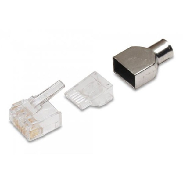NETCONNECT Cat6 RJ45 Plugs logo