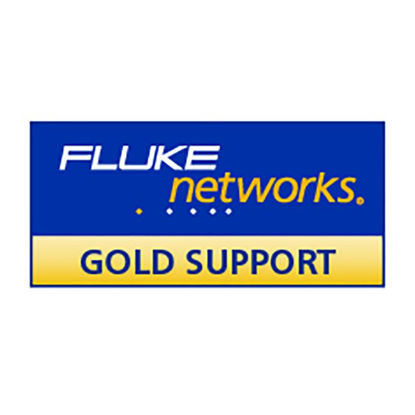 Fluke Networks DSX-5000 Gold Support logo