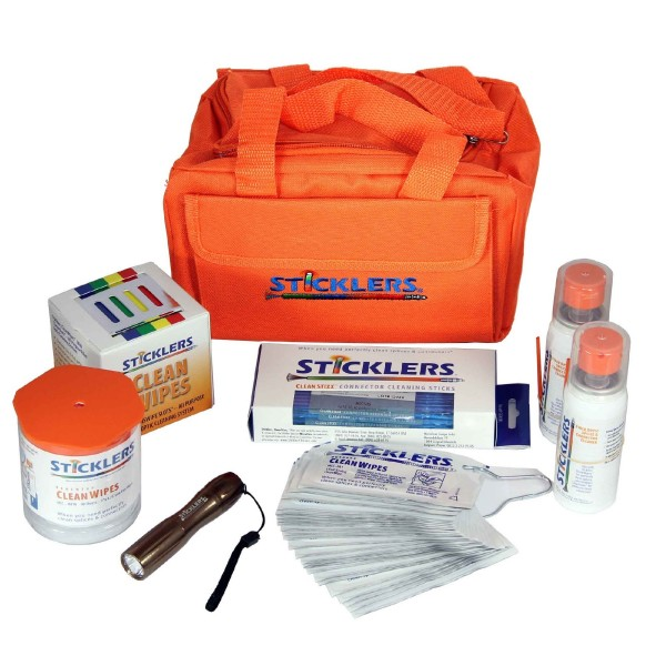 Sticklers Standard Fibre Optic Cleaning Kit logo