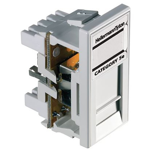 HellermannTyton Easy Clip Cat5e Modules logo