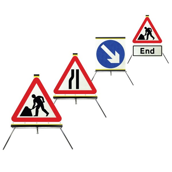 Stand Mounted Road Signs logo
