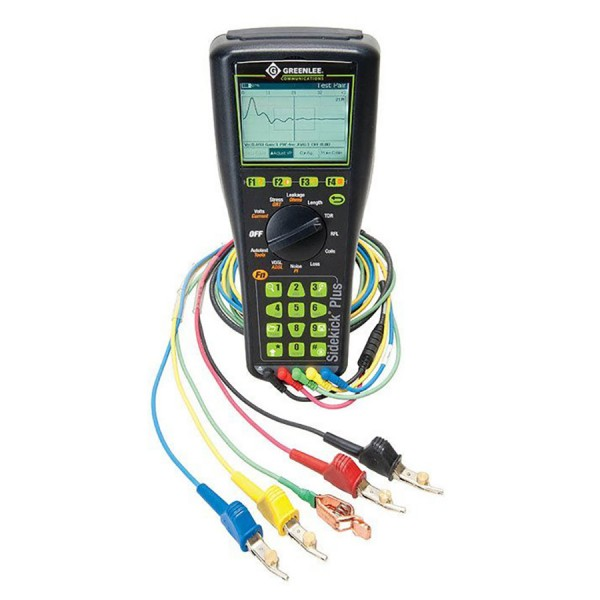 Greenlee Sidekick Plus Cable Maintenance Test Sets logo