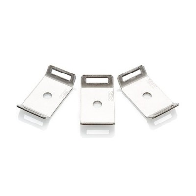 Stainless Steel Screw Fixed Cable Tie Cradles logo