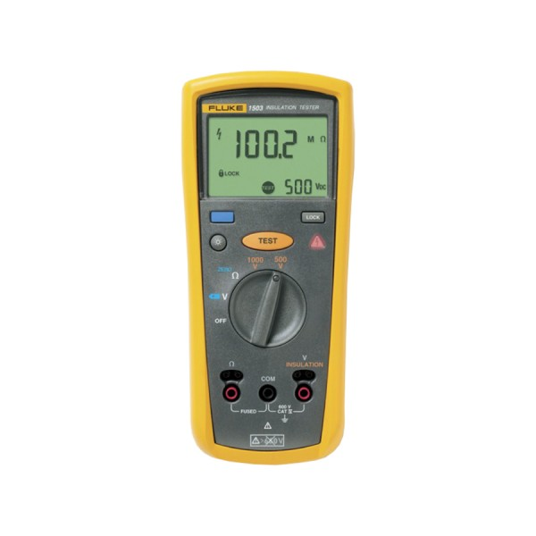 Fluke 1503 Insulation Tester logo