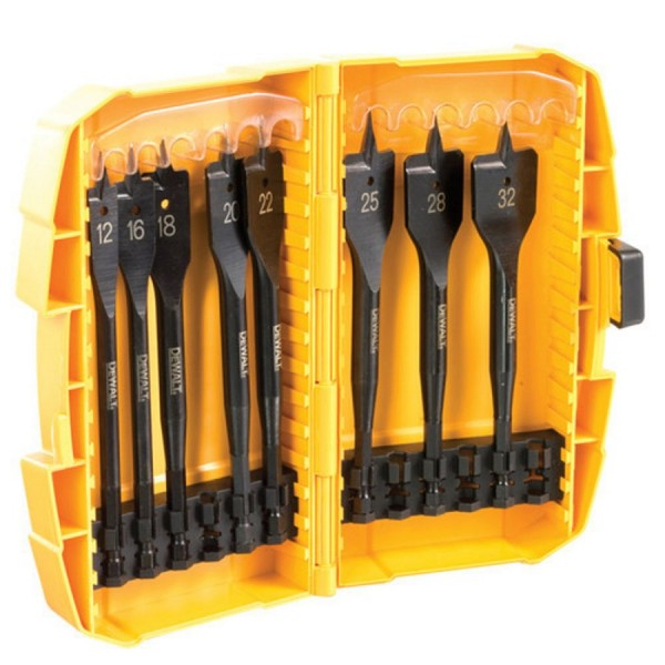 DeWalt Extreme Flat Wood Drill Bit Set logo