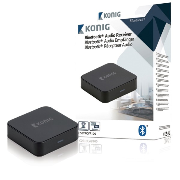 Konig Bluetooth Audio Receivers logo