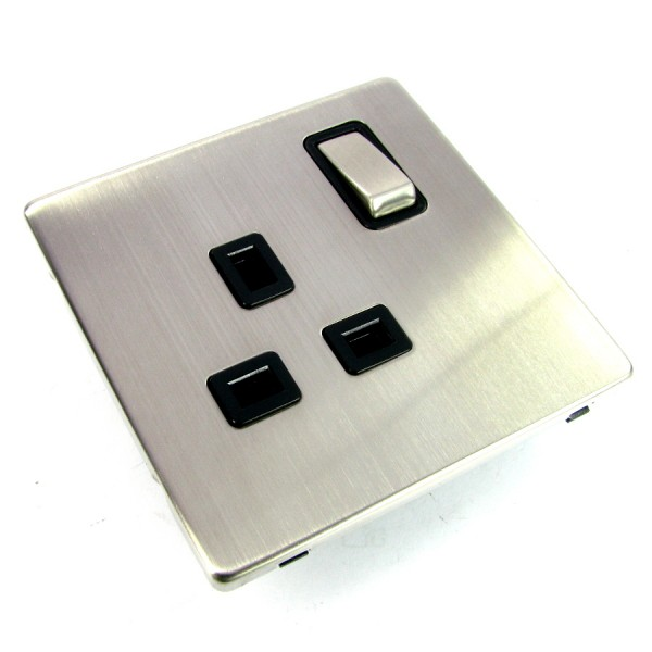 Scolmore Screwless Power Socket logo