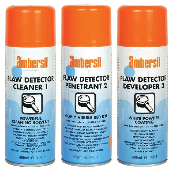 Ambersil Flaw Detector Cleaner, Penetrant & Developer logo