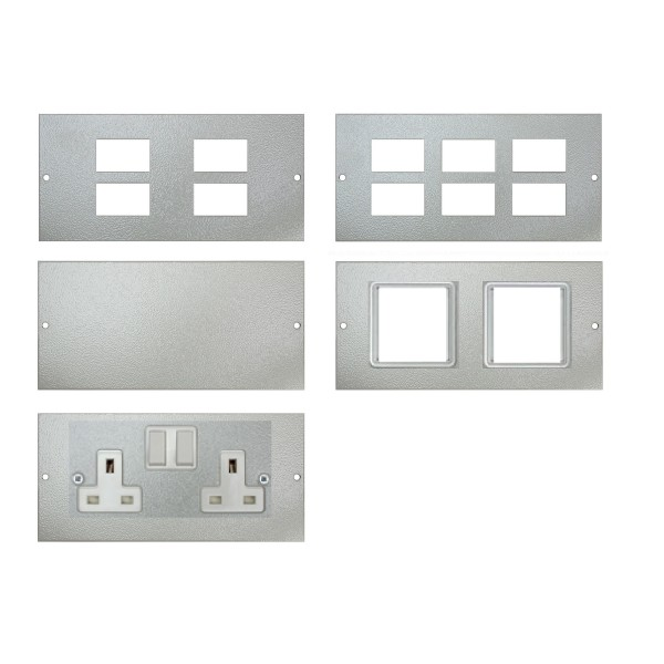 Ultima 3 Way Floor Box (Shallow & Deep) Accessory Plates logo
