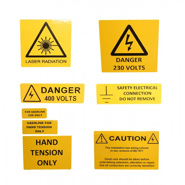 Warning & Hazard Labels logo