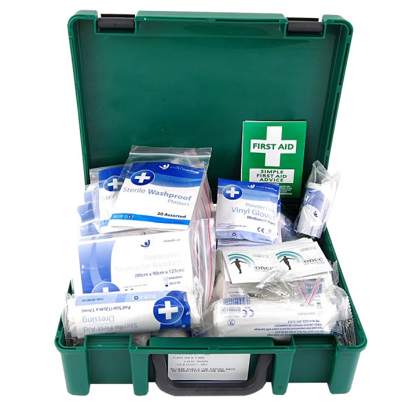 10 Person First Aid Kit logo