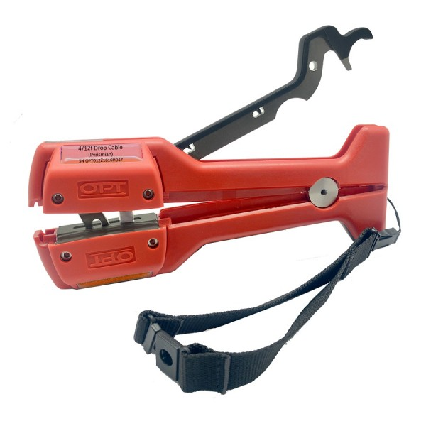 OPT 4/12f Overhead Drop Cable Stripper logo