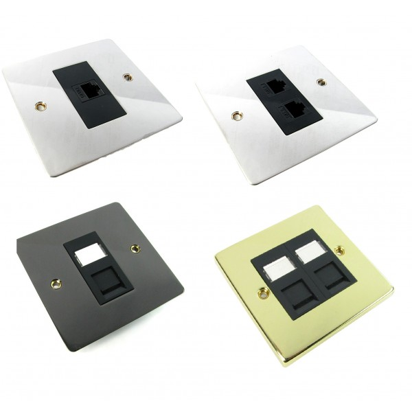 Nexxia Assembled Decorative Data Faceplates logo