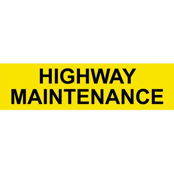 Highway Maintenance Stickers logo