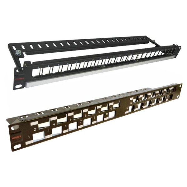 Molex Keystone Patch Panels logo