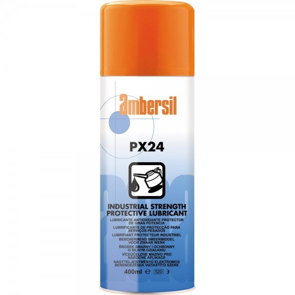 Ambersil PX24 Industrial Strength Protective Lubricant logo